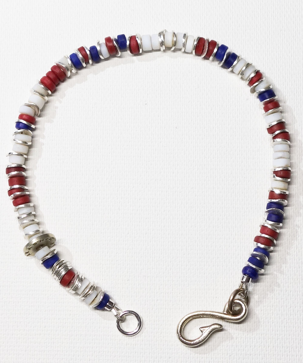 AFRICAN BEADS WIRE ANKLET(アフリカンビーズワイヤーアンクレット)4