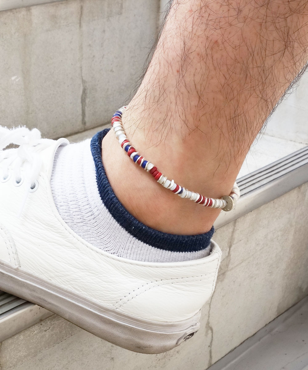 AFRICAN BEADS WIRE ANKLET(アフリカンビーズワイヤーアンクレット)5
