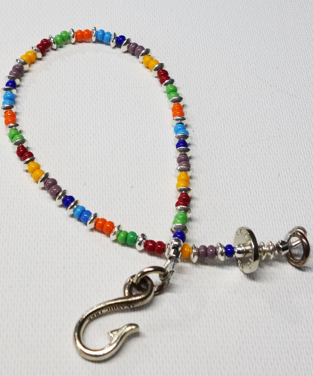 VENETIAN  BEADS WIRE ANKLET (ヴェネツィアビーズワイヤーアンクレット)7