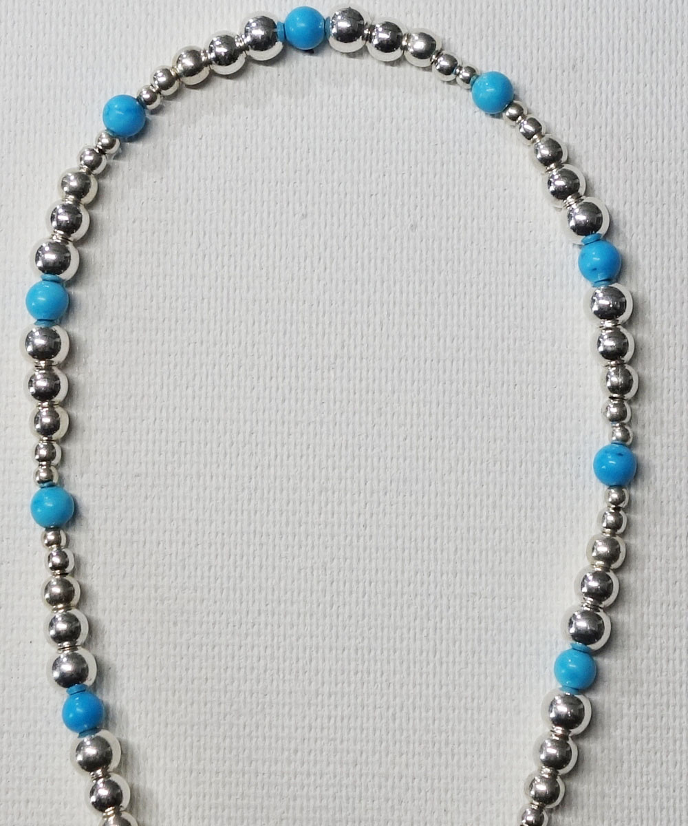 STERLING SILVER & TURQUOISE  WIRE ANKLET(スターリングシルバー&ターコイズワイヤーアンクレット)8